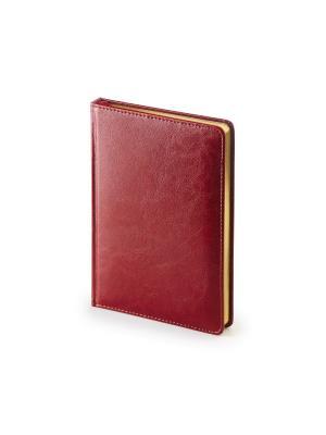 Ежедневник а5+ velvet Альт. Цвет: бордовый
