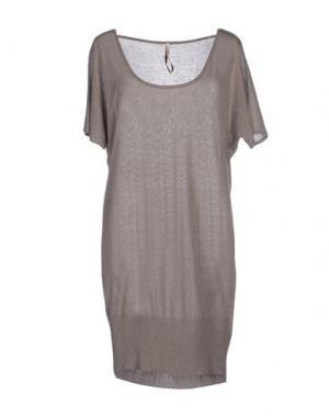 Короткое платье EMMA&GAIA. Цвет: серый