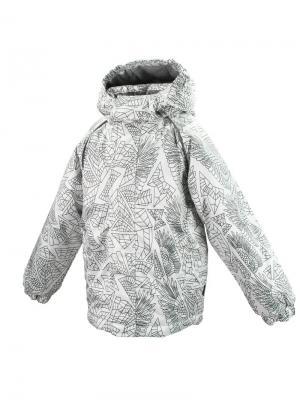 Куртка MARINO HUPPA. Цвет: белый, серый