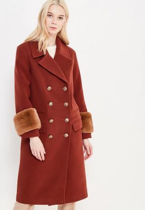 Пальто Grand Style. Цвет: коричневый