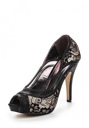 Туфли Sinly. Цвет: черный