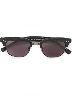 Солнцезащитные очки Statesman Two Dita Eyewear. Цвет: чёрный