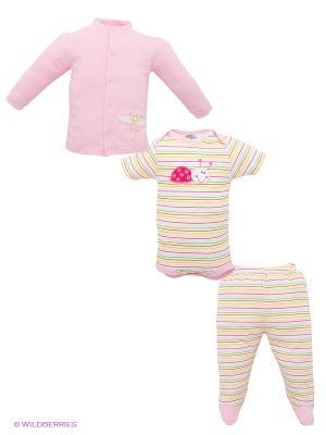 Комплект FS Confeccoes. Цвет: розовый, белый, лиловый