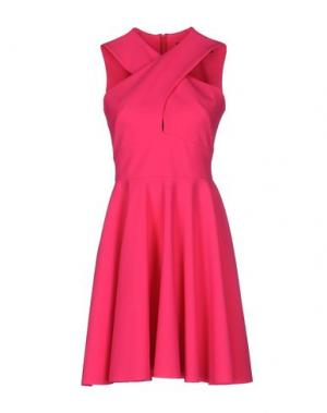 Короткое платье GRETA CONSTANTINE. Цвет: фуксия