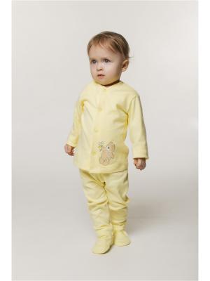 Кофточка ORANGE BABY. Цвет: светло-желтый, бежевый