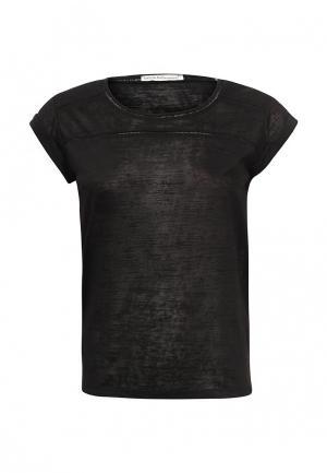 Футболка Emoi Size Plus. Цвет: черный