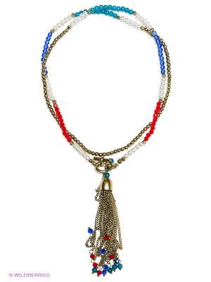 Ожерелье Модные истории. Цвет: золотистый