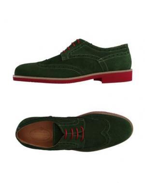 Обувь на шнурках HERMAN & SONS. Цвет: зеленый