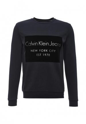 Свитшот Calvin Klein Jeans. Цвет: синий