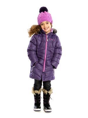 Пальто NANO. Цвет: темно-фиолетовый