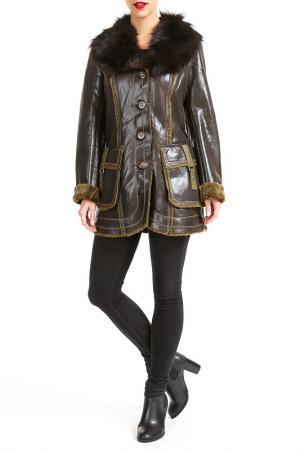 Куртка Isaco & Kawa. Цвет: brown