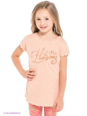 Блузка MANAI. Цвет: оранжевый