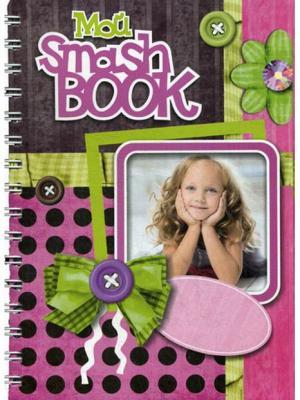 Блокнот Мой Smashbook. Девочка с кудряшками Попурри. Цвет: белый