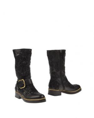 Полусапоги и высокие ботинки GIANCARLO PAOLI. Цвет: черный