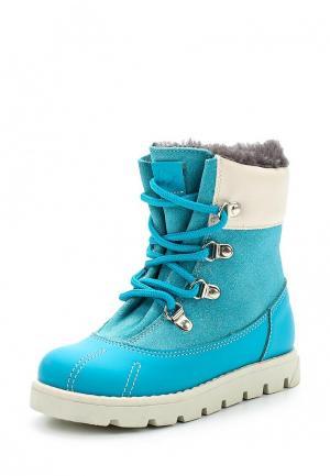 Ботинки Tapiboo. Цвет: бирюзовый