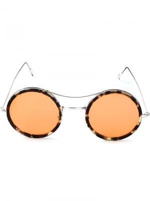Солнцезащитные очки Ros Kyme. Цвет: металлический