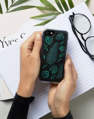 Zero Gravity Чехол для iPhone 7 с папоротником. Цвет: мульти