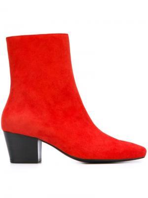 Ботинки Droop Nose Dorateymur. Цвет: красный