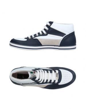 Высокие кеды и кроссовки WILLIAMS WILSON. Цвет: синий