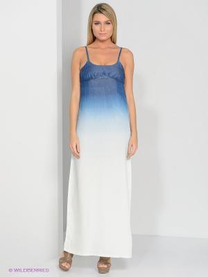 Платье TOM FARR. Цвет: синий, светло-зеленый