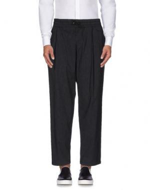 Повседневные брюки DEPARTMENT 5. Цвет: стальной серый