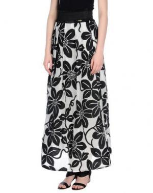 Длинная юбка CRISTINAEFFE. Цвет: черный