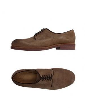 Обувь на шнурках MR. WOLF. Цвет: хаки