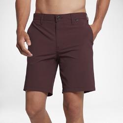 Мужские шорты 48 см Hurley Dri-FIT Chino Nike. Цвет: коричневый
