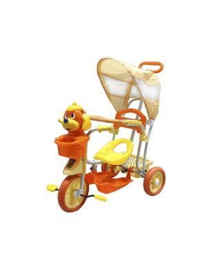 Велосипед детский, 3х-колесный с музыкой, оранжевый(MT-BCL0815006) Pit Stop. Цвет: оранжевый