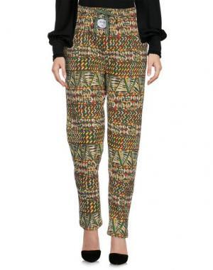 Повседневные брюки MISHKA. Цвет: зеленый-милитари