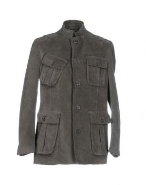 Пиджак WOOSTER + LARDINI. Цвет: свинцово-серый