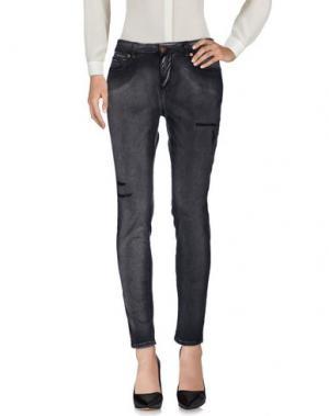 Повседневные брюки REIGN. Цвет: черный