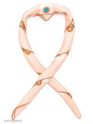 Платок Venera. Цвет: персиковый, оранжевый