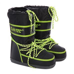 Ботинки зимние женские  Blunt Fluo Black/Lime Hi-Tec. Цвет: черный,зеленый