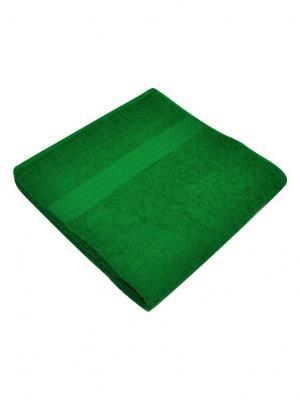 Полотенце махровое Корона. Цвет: светло-зеленый