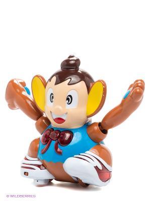 Развивающая игрушка S-S. Цвет: коричневый, кремовый, синий