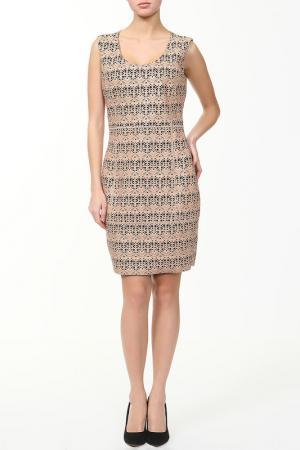 Платье Drome. Цвет: бежевый