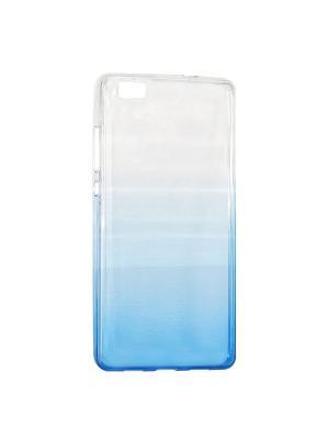 Крышка задняя для Huawei P8 Lite Силикон IQ Format. Цвет: синий