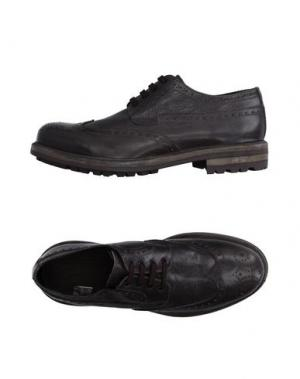 Обувь на шнурках GOLD BROTHERS. Цвет: свинцово-серый