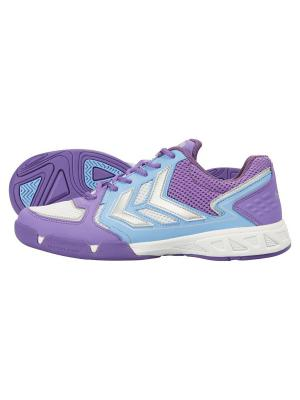 Кроссовки HUMMEL CELESTIAL  X5 Womens. Цвет: белый, голубой, фиолетовый