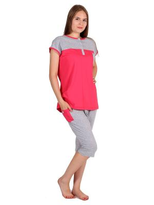 Пижама Flip. Цвет: коралловый