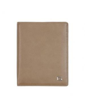 Бумажник GIUDI. Цвет: бежевый