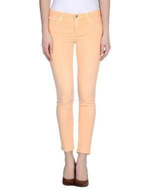 Джинсовые брюки AG ADRIANO GOLDSCHMIED. Цвет: оранжевый
