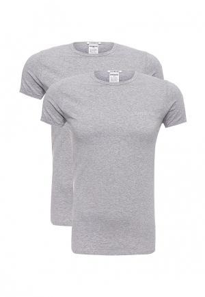 Комплект футболок 2 шт. Bikkembergs. Цвет: серый
