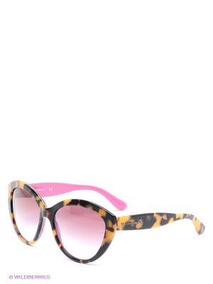 Очки солнцезащитные DOLCE & GABBANA. Цвет: черный, желтый