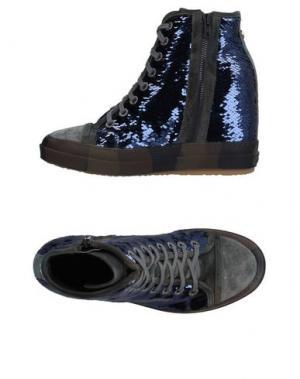 Высокие кеды и кроссовки RUCO LINE. Цвет: фиолетовый