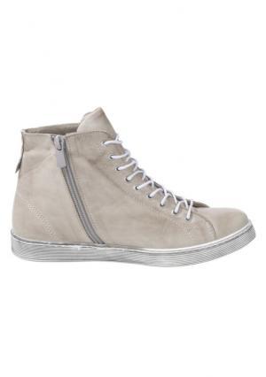 Ботинки Andrea Conti. Цвет: серый, синий