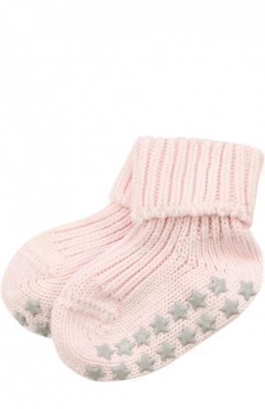 Вязаные носки Catspads Falke. Цвет: розовый