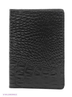 Обложка для автодокументов A.Valentino. Цвет: черный, темно-серый