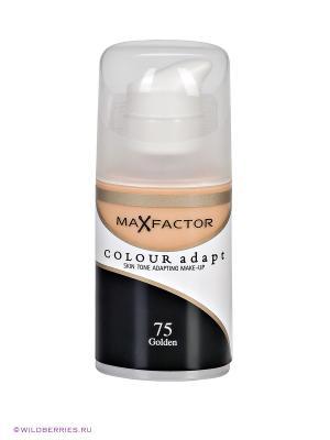 Тональный крем Colour Adapt №75 MAX FACTOR. Цвет: бежевый